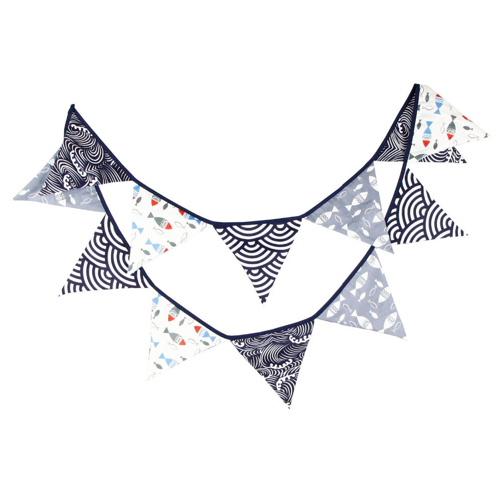 Fishing Sea Themed Cloth Bunting