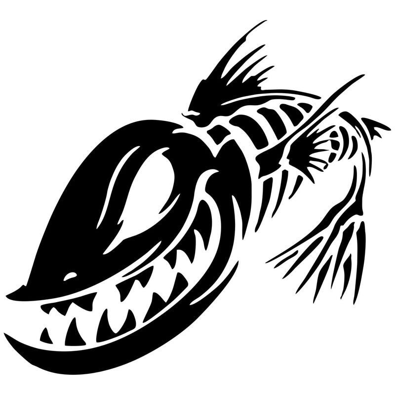 Demon Fish ~ Decal