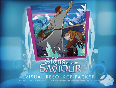 The Life of Christ: Signs of Our Saviour Visual Aid Pack