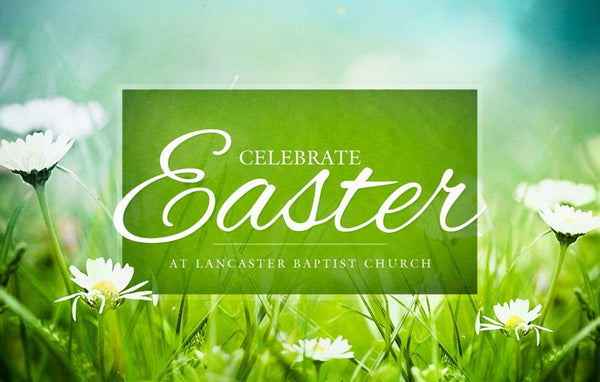 Celebrate Easter—Outreach Card