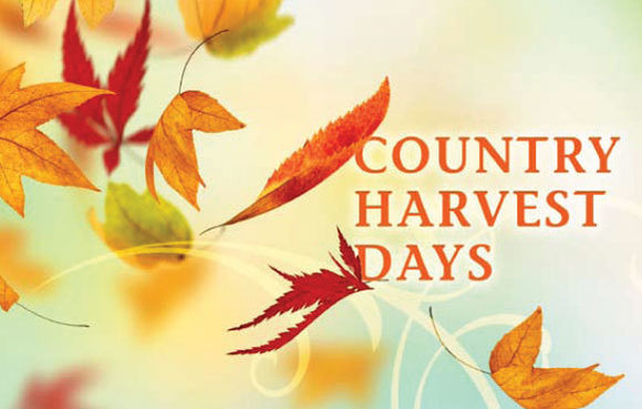 Country Harvest Days (Orange)—Gospel Tract
