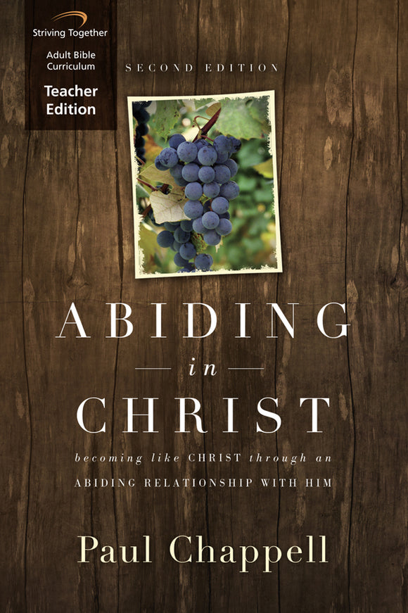 Abiding in Christ Teacher Edition Download