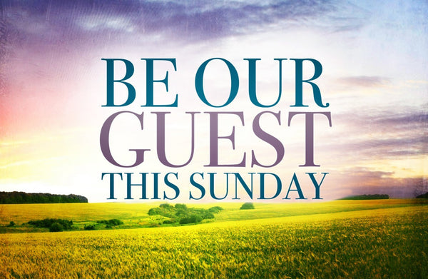 Be Our Guest Gospel—Gospel Tract