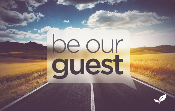 Be Our Guest Road—Outreach Card