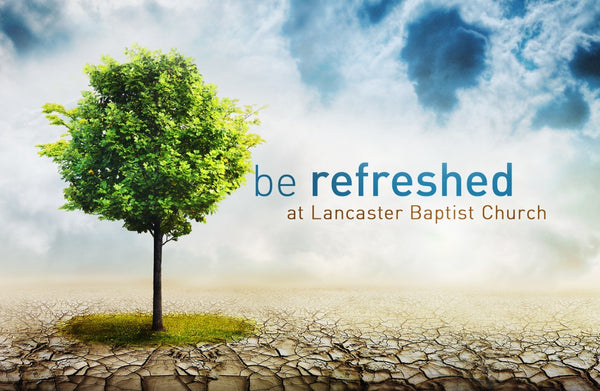 Be Refreshed—Outreach Card