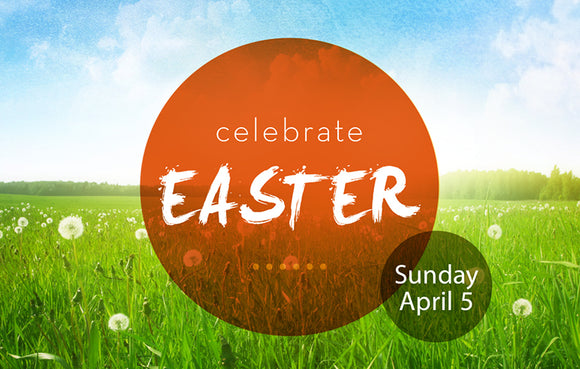 Celebrate Easter Orange—Outreach Card