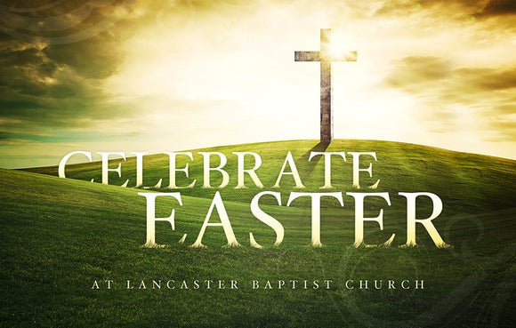 Celebrate Easter Cross—Outreach Card