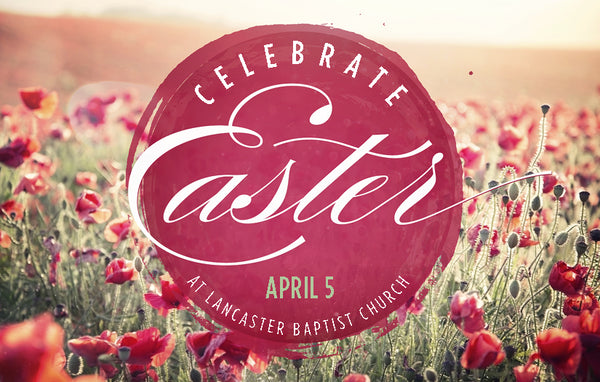 Celebrate Easter Red—Outreach Card