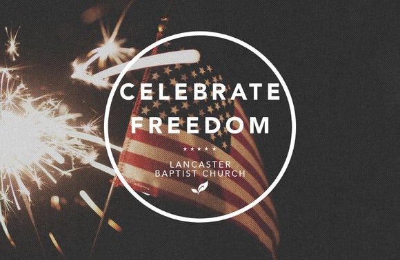 Celebrate Freedom—Outreach Card