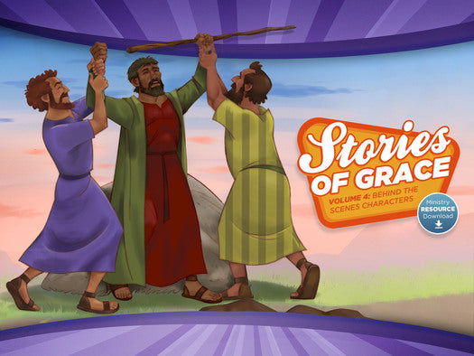 Stories of Grace: Behind the Scenes Characters Ministry Resource Download