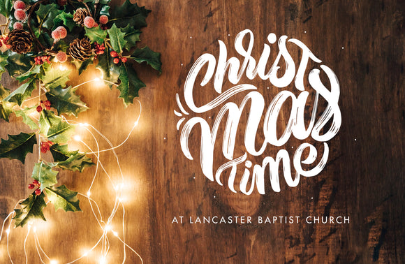 Christmastime—Outreach Card