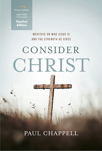 Consider Christ Teacher Edition Download