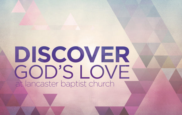 Discover God's Love—Outreach Card