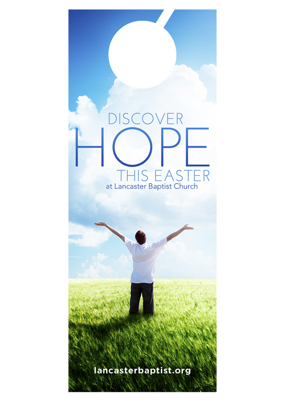 Discover Hope—Door Hanger