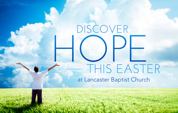 Discover Hope this Easter—Outreach Card
