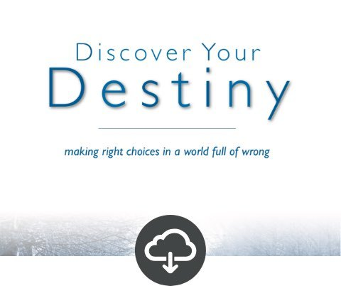 Discover Your Destiny Student Download