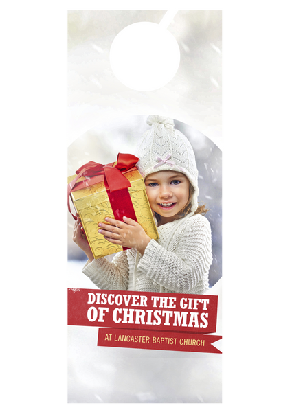 Discover the Gift—Door Hanger