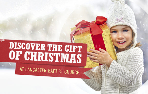 Discover the Gift of Christmas—Outreach Card