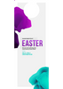 Easter Purple & Blue—Door Hanger