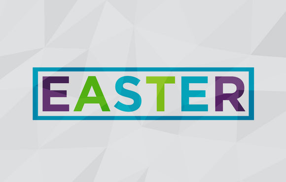 Easter Geometric—Outreach Card