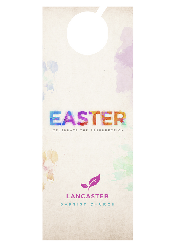 Easter Splash—Door Hanger