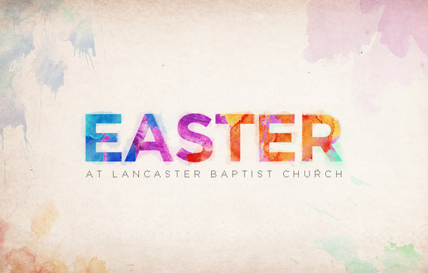 Easter Splash—Outreach Card