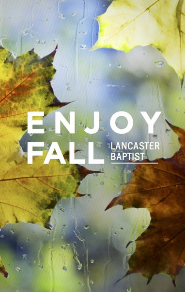 Enjoy Fall—Outreach Card