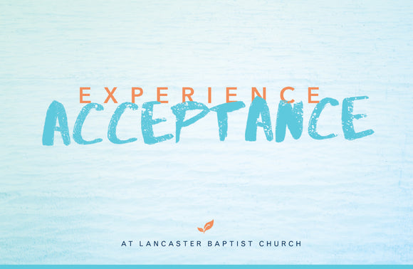 Experience Acceptance—Outreach Card