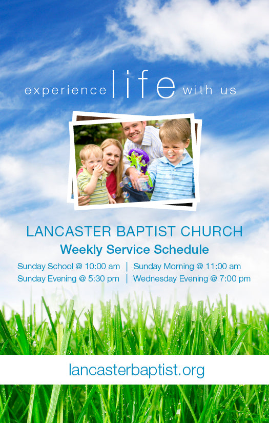 Experience Life—Outreach Card