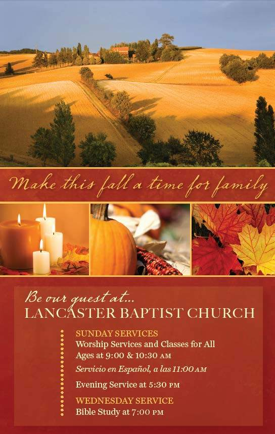 Fall—Outreach Card