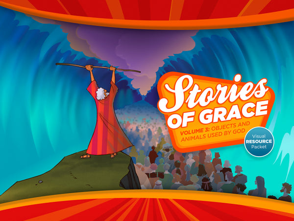 Stories of Grace: Objects & Animals Used by God Visual Aid Pack