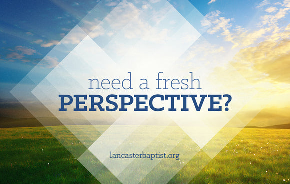 Fresh Perspective—Outreach Card