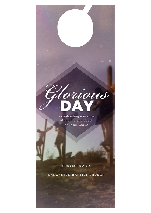 Glorious Day—Door Hanger