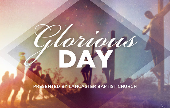 Glorious Day—Outreach Card
