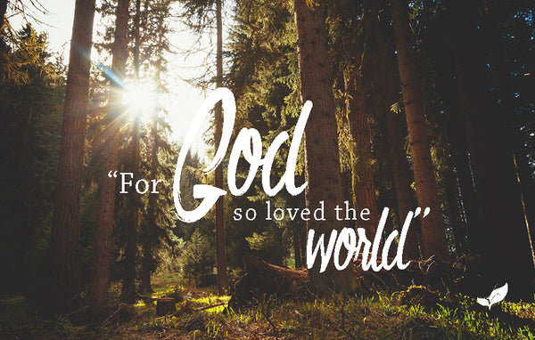 God's Love—Outreach Card