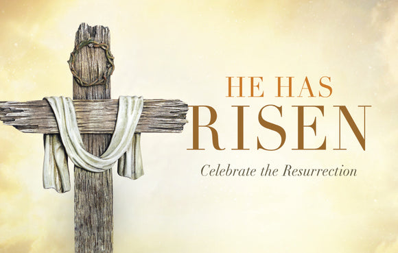 He Has Risen—Outreach Card
