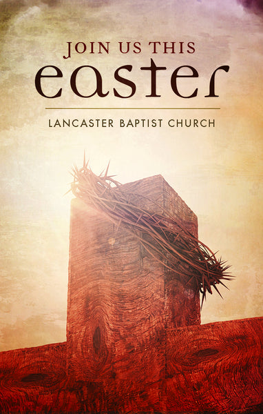 Join Us This Easter—Outreach Card