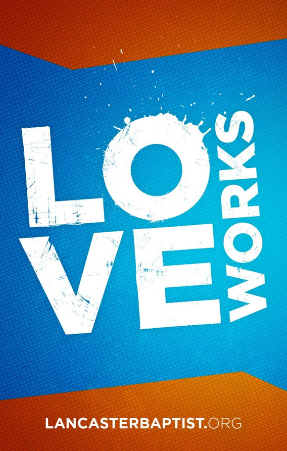 Love Works—Outreach Card