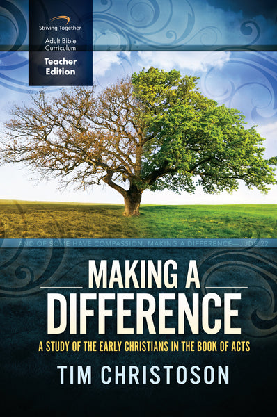 Making a Difference Teacher Edition
