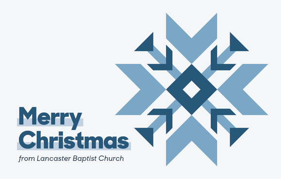 Merry Christmas Snowflake—Outreach Card