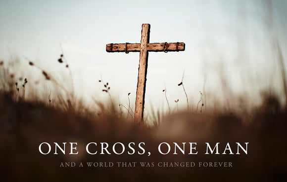 One Cross, One Man—Outreach Card