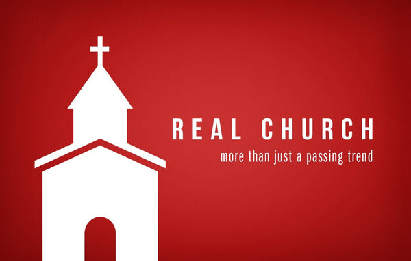 Real Church—Outreach Card