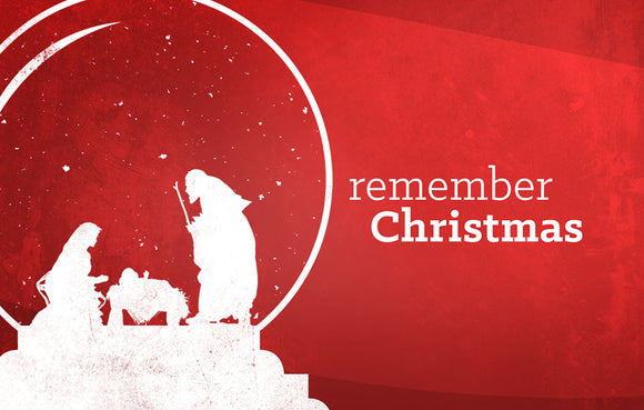 Remember Christmas—Outreach Card