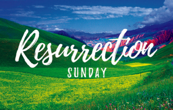 Resurrection Sunday Green Hills—Outreach Card