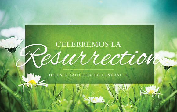 Celebramos la Resurreccion—Outreach Card