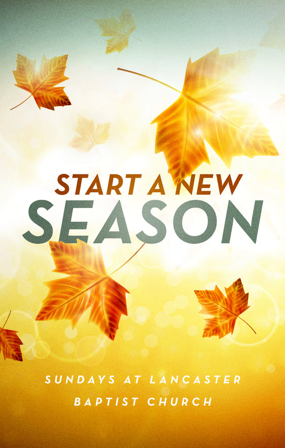 Start a New Season—Outreach Card