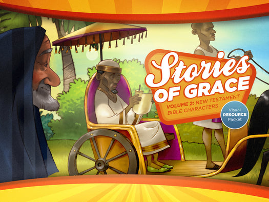 Stories of Grace: New Testament Bible Characters Visual Aid Pack