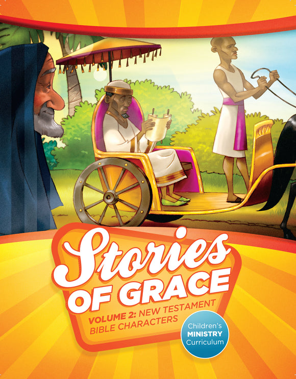 Stories of Grace: New Testament Bible Characters Teacher Edition