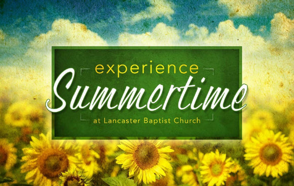Summertime—Outreach Card