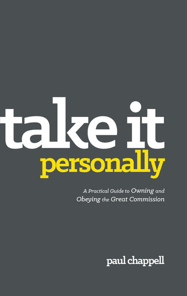 Take it Personally